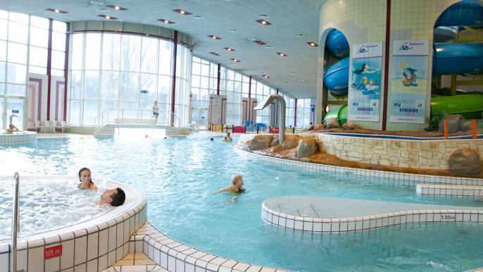 onbeperkt € 0,60 korting op recreatief zwemmen