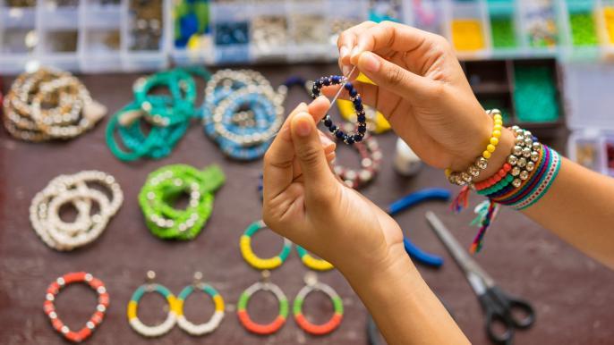 onbeperkt 25% korting op de workshop armband maken