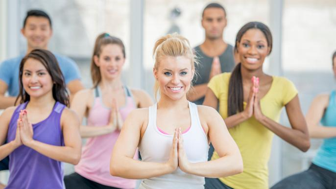 onbeperkt 25% korting op pilates- of yogalessen