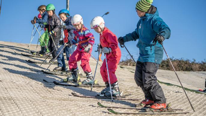 onbeperkt € 25,- korting op een ski- of snowboardcursus