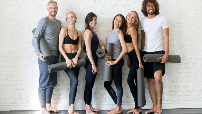 1x 25% korting op een introductiemaand onbeperkt yoga