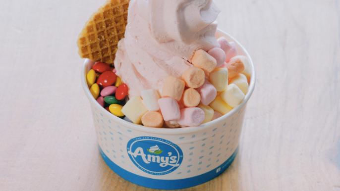 1x 25% korting op een frozen yoghurt
