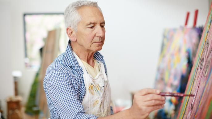onbeperkt € 75,- korting op teken- en schildercursussen