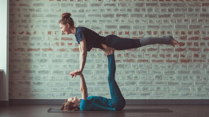 1x 25% korting op 10 lessen acrobatiek