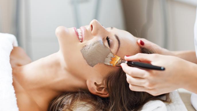onbeperkt 50% korting op een luxe gezichtsmasker