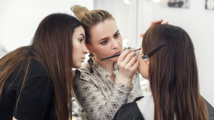1x 25% korting op een privé make-upworkshop