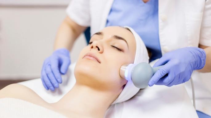 1x 25% korting op een uitgebreide gezichtsbehandeling