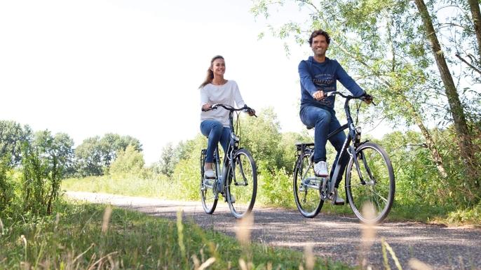 onbeperkt 50% korting op een dagtocht met e-biketour