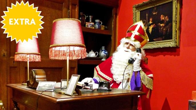 1x gratis naar 'Het Huis van Sinterklaas'