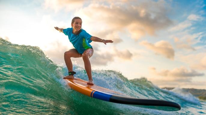 onbeperkt 50% korting op een surfdag