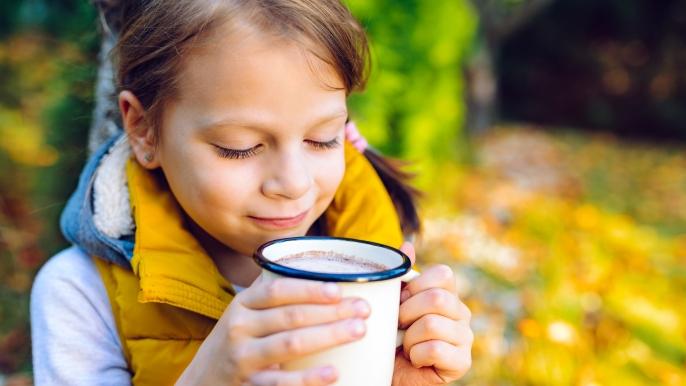 1x gratis warme drank met pindakoek bij de speurtocht
