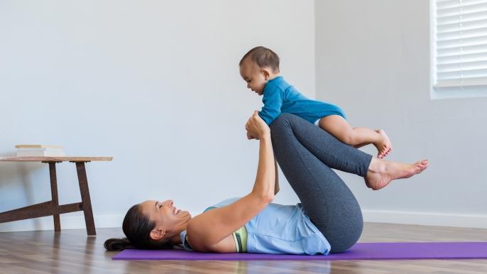 onbeperkt 25% korting op baby- en dreumesyoga