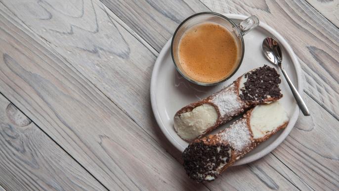onbeperkt 25% korting op koffie met Italiaanse patisserie