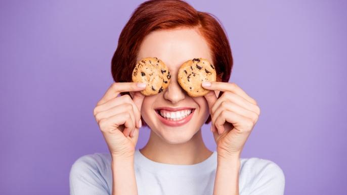 1x 50% korting op een vegan cookiebox