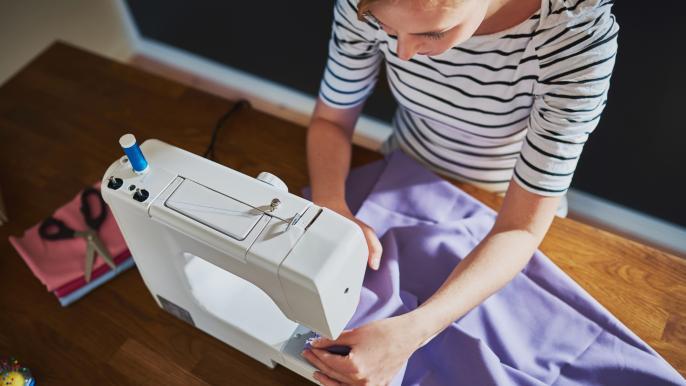 onbeperkt 25% korting op een starterscursus kleding naaien